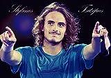 ステファノス チチパス ポスター 42x30cm テニス 選手 Stefanos Tsitsipas Tennis poster