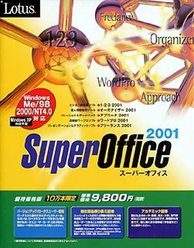 気を散らす金貸し用心するSuperOffice 2001 優待版 マニュアル付