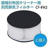 アイリスオーヤマ 布団クリーナー 超吸引 排気フィルター 2個入り CF-FH2 画像
