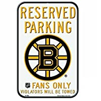 "NHL Boston Bruins 29521011プラスチックサイン、11"" x 17"""