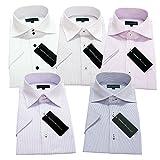 グリニッジ ポロ クラブ 半袖ワイシャツ 5枚セット 形態安定 豊富な7サイズ pes 001-S