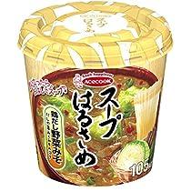 エースコック スープはるさめ 鶏だし野菜みそ 33g×6個