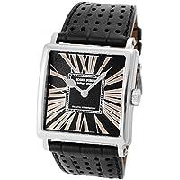 [ロジェデュブイ] ROGER DUBUIS 腕時計 ゴールデンスクエア G40 WG/レザー ブラック 《世界28本限定!》 [中古品] [並行輸入品]
