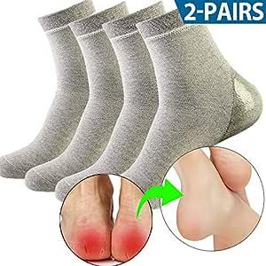ソックス かかとケア かかと保護 潤い保湿ジェル靴下 かかとサポーター 角質ケア 乾燥 痛みを和らげる 美脚 通気性85-13
