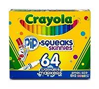 [クレヨラ]Crayola ® PipSqueaks SkinniesTM Markers 58-8764 [並行輸入品]