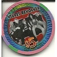 $ 5 Planet Hollywood Velvet Revolver Rare Obsoleteラスベガスカジノチップ
