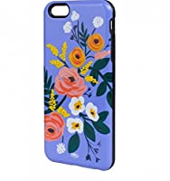 Rifle Paper Co. Violet Rose Cell Phone Cover With Inlay for iPhone 6 Plus [並行輸入品]