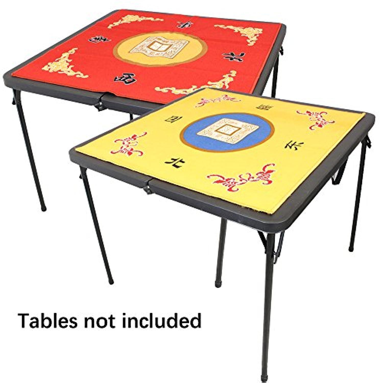 [ペイセールスタックス]We pay your sales tax 31.5 Table Cover Slip Resistant Mahjong Game / Poker / Dominos / Card Tablecovers Table Top [並行輸入品]