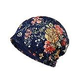 LOLONG抗がん剤 医療用帽子 レディース 花柄 夏用