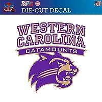 (Approx 15cm ) - Western Carolina University Catamounts WCU Die-Cut Vinyl Decal Logo 1