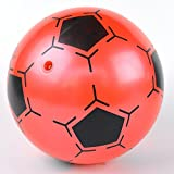RaiFu サッカーボール バルーンサッカーボール 9インチ 子供 インフレータブルPVCサッカーボールおもちゃのサッカーの形は、子供のためのボールの贈り物を跳ねる ランダム色