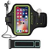 iPhone 8アームバンド、jemacheジムランニングワークアウト/練習ProスポーツアームバンドケースポーチホルダーIphone 8/ 6/ 6s / Galaxy s8withキー/カードホルダー/ - Best Reviews Guide