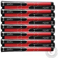 14のセットブランド新しいWinn DriTac AVS標準ブラックレッドゴルフグリップ – dri-tac 。