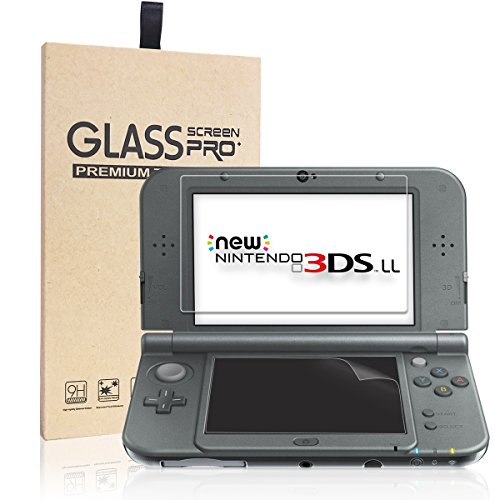 New Nintendo 3DS LL フィルム-NONZERS New 3DS LL 液晶画面保護...