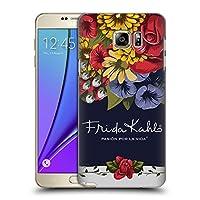 Official Frida Kahlo ブルーム レッド・フローラル ハードバックケース Samsung Galaxy Note5 / Note 5