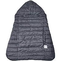 BABYHOPPER 抱っこ紐カバー 防寒 ウインター・マルチプルダウンカバー ウールライク グレー 0か月~ CKBH04018