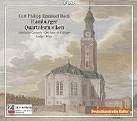 Hamburger Quartalsmusiken by C.P.E. BACH (2010-09-28)