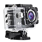 NexGadget アクションカメラ ソニーセンサー搭載 1600万画素 4K 1080PフルHD高画質 170度広角 30m防水スポーツカメラ WIFI機能搭載 ドライブレコーダー機能 (AT-30)