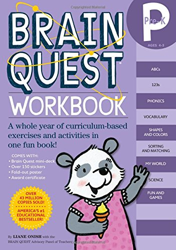 Brain Quest Workbook Pre-K -