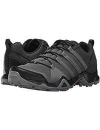 (アディダス) adidas メンズハイキング?アウトドア?トレールシューズ?靴 Terrex AX2R Carbon/Grey Four/Solar Slime 10.5 (28.5cm) D - Medium
