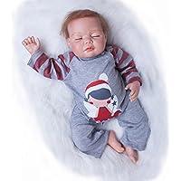 Pursue Baby Real LifeハンドメイドRebornベビー人形、中国人形Xiaoming、20インチリアルな新生児赤ちゃん人形Lifelike Weighted for Cuddle