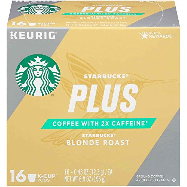 Starbucks Keurig K-Cup Plus Blonde Roast スターバックスケリーグKカッププラスブロンドロースト16杯分 [並行輸入品]