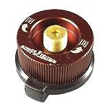 simPLEISURE(シンプレジャー) カセットガスアダプター(CB缶→OD缶に変換) コーヒーブラウン