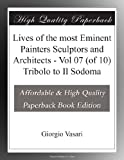 Lives of the most Eminent Painters Sculptors and Architects - Vol 07 (of 10) Tribolo to Il Sodoma