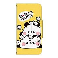 ドレスマ HTC Desire 626 手帳型 ケース カバー もちもちぱんだ HTCデザイア616 もちもちぱんだ4(PAT004) 受注生産 国内印刷 日本製 受注生産 国内印刷 日本製 TH-HTCDESIRE626-PAT004-WH