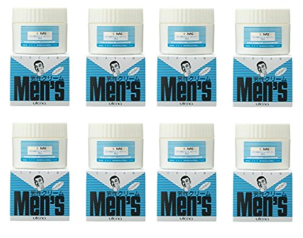 たらい雇用者アッパー【まとめ買い】ウテナ 男性クリーム さっぱり (ホワイト) 60g×8個