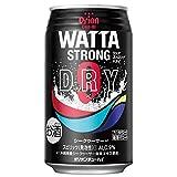 WATTA(ワッタ) STRONG DRY シークヮーサー 350ml x 24本 [缶]≪1ケース≫[ケース販売][2ケースまで同梱可][オリオンビール/日本/沖縄県/チューハイ]
