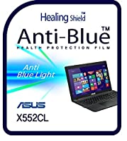 Healingshield スキンシール液晶保護フィルム Eye Protection Anti UV Blue Ray Film for Asus Laptop X552CL