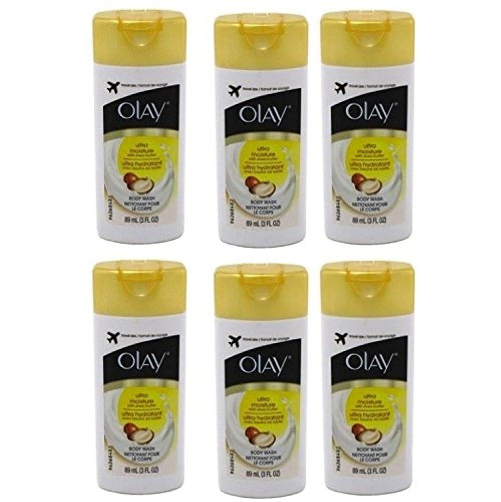 目覚めるする必要がある腐敗Olay Ultra Moisture Body Wash 3oz Travel Size by Olay
