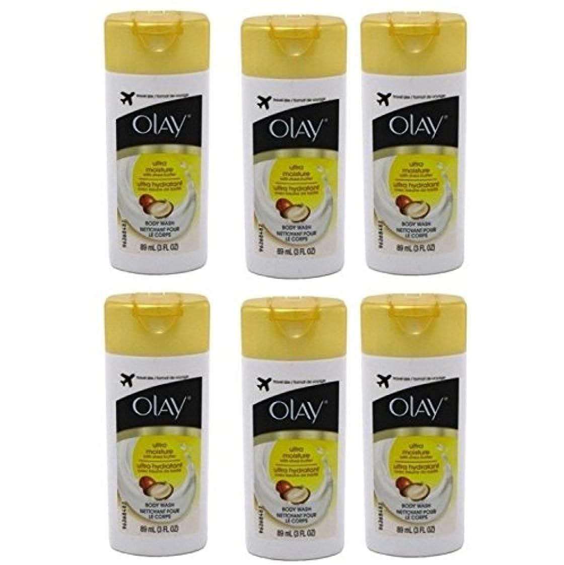 ミンチ検閲信頼性Olay Ultra Moisture Body Wash 3oz Travel Size by Olay