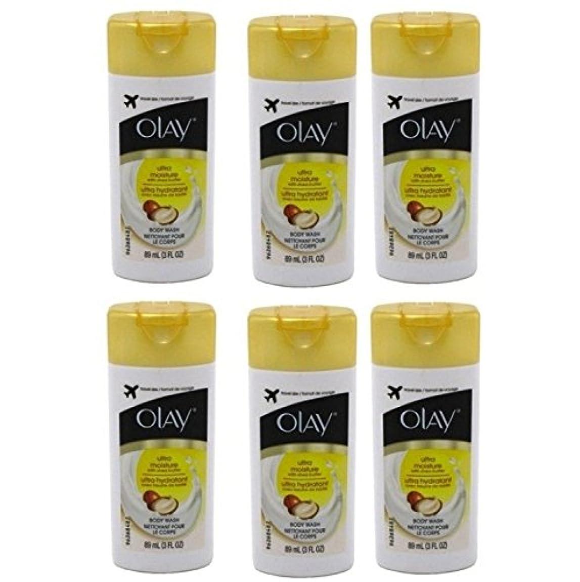 地上で消去未亡人Olay Ultra Moisture Body Wash 3oz Travel Size by Olay