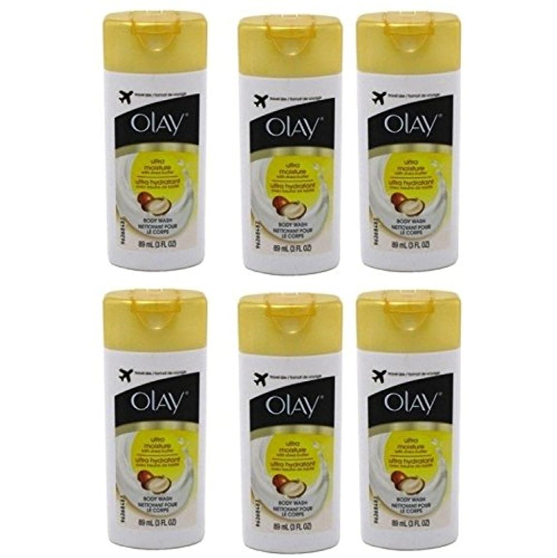 シネマ寄付するバリーOlay Ultra Moisture Body Wash 3oz Travel Size by Olay