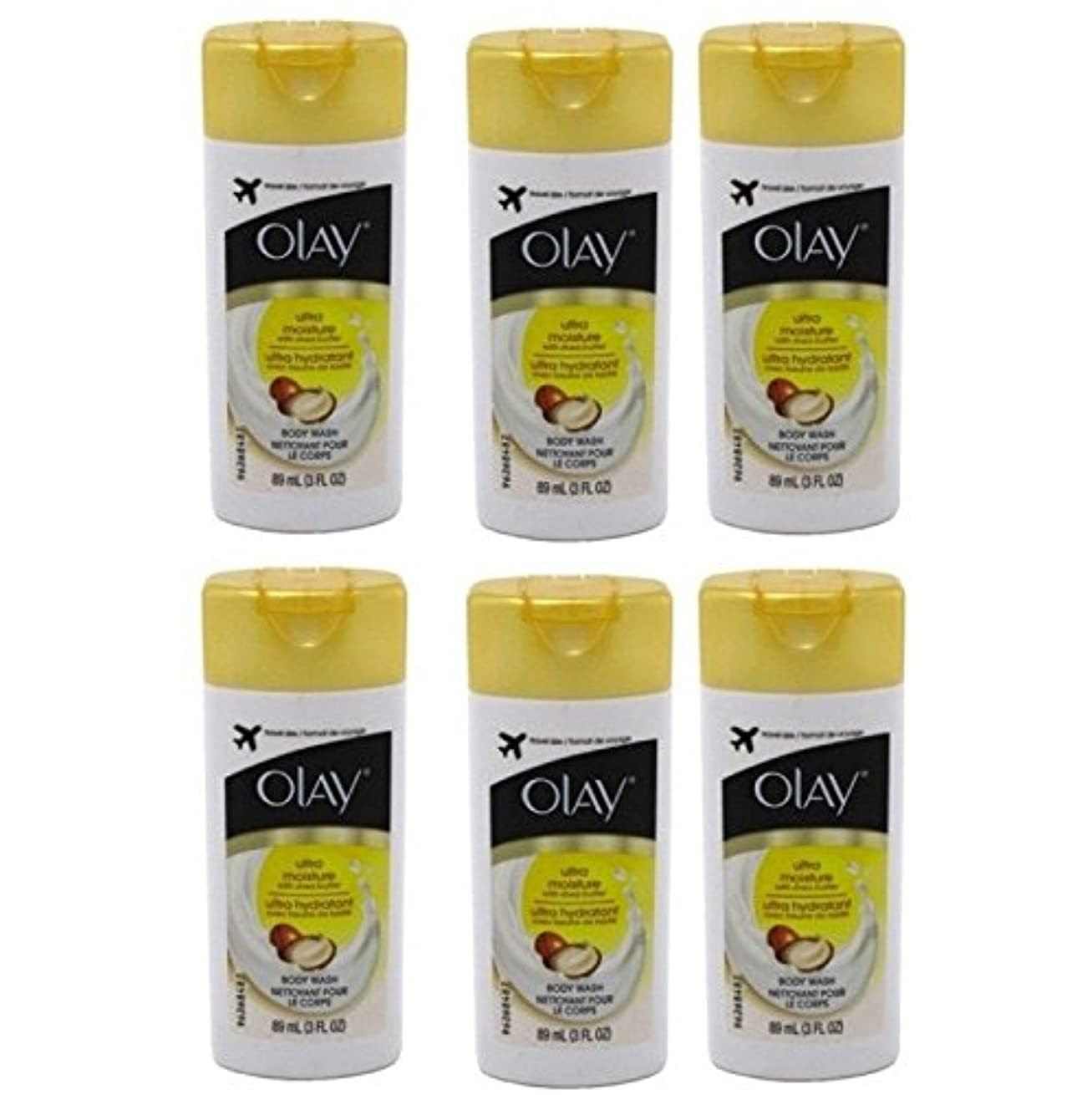 枢機卿レンジ生息地Olay Ultra Moisture Body Wash 3oz Travel Size by Olay