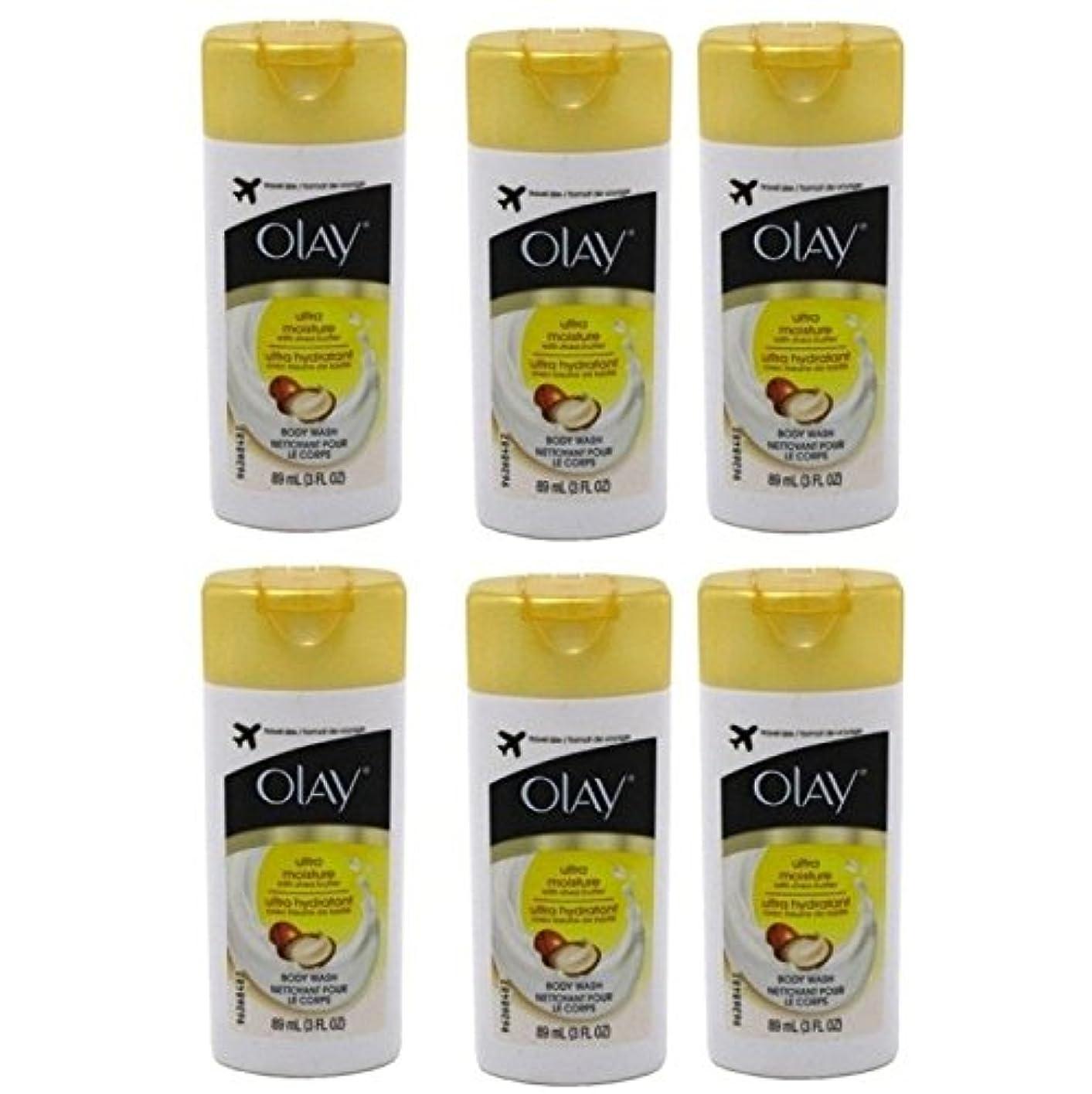 罰焦がす父方のOlay Ultra Moisture Body Wash 3oz Travel Size by Olay