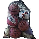 Evelots Sport Ball Mesh Bag-Drawstring-Football/Soccer-Easy Travel-3.5 Feet Long