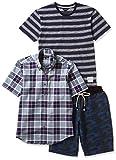 (カンサイヤマモトオム)KANSAI YAMAMOTO HOMME Tシャツ、半袖シャツ、ハーフパンツカジュアル3点セット 564-3P-B  マルチ M