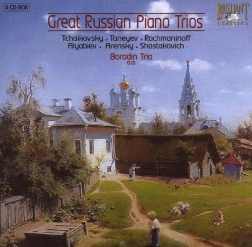 ロシア・ピアノ三重奏曲集(4枚組)/Great Russian Piano Trios