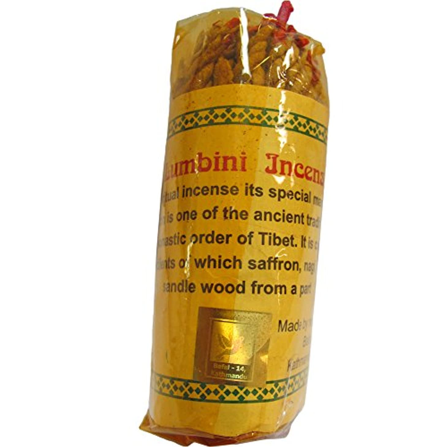 廊下状態政治家チベットルンビニ従来ロープZimbu Ritual Incense ( 45 Sticks )