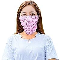 PureNicot 日焼け防止 3D フェイスマスク UVカット フェイスカバー 紫外線対策 農作業 ガーデニング アウトドア レディース