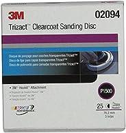 "3M 02094 Trizact Hookit 3"" P1500 Grit Clear Coat Sanding"