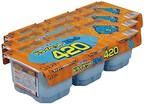 【まとめ買い】 ドライペットスキット 除湿剤 使い捨てタイプ (420ml×3個パック)×3個