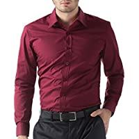 Men's Casual Business Slim Fit Shirt Button Down
