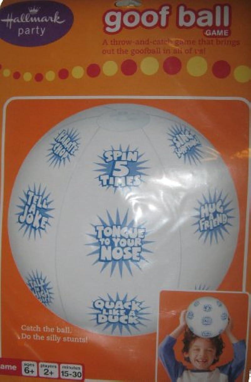 義務花炭素Goof Ball Game