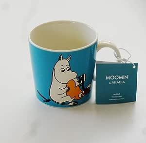 Arabia アラビア 北欧食器 フィンランド マグカップ ムーミン ターコイズ Moomintroll turquoise 64-1180-018740-4