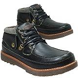 [防水]Truck Club(トラッククラブ) 靴 メンズ レインシューズ 防水 防滑 スニーカー  71113-280-BL
