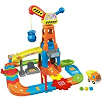 Vtech早期教育おもちゃGo Goスマートwheels- Construction Playset lncludes 15トラックPieces Toy for Kids